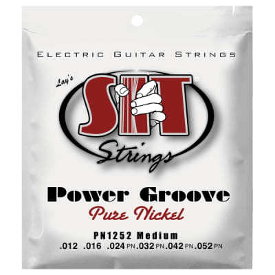 SIT Strings PN1252 Medium Power Groove Pure Nickel .012-.052