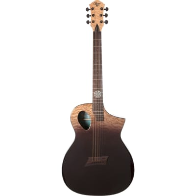 Michael Kelly Forte Port X Partial Eclipse Electro-Acoustic Guitar for sale