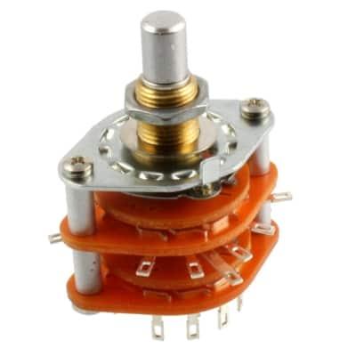 5-Way Rotary Pickup Selector Switch