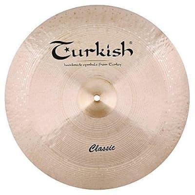 "Turkish Cymbals 22"" Classic Reverse Bell China"