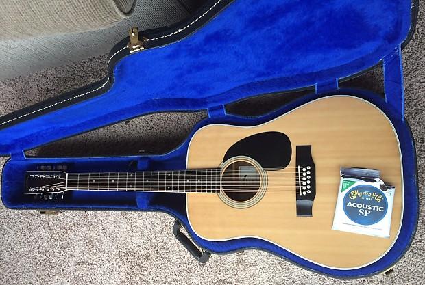 Guitars & Basses Sigma Martin Dr12-7 Twelve String Acoustic Electric Guitar Acoustic Electric Guitars