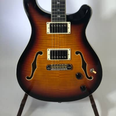 Paul Reed Smith PRS SE Hollowbody II Electric Guitar Tri Color Burst for sale