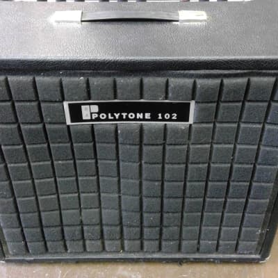 Polytone 102 1x12 Combo Amp with Cover for sale