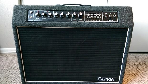 1990 Carvin Xv 212 100w Tube Combo Amp Reverb