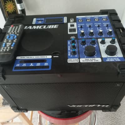 """VocoPro JAMCUBE 1 100W Stereo All-In-One Mini PA/Entertainment System  2 x 6.5"""" speakers"""