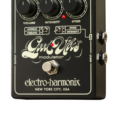 Electro-Harmonix GOOD VIBES Modulator, 9.6DC-200 PSU included