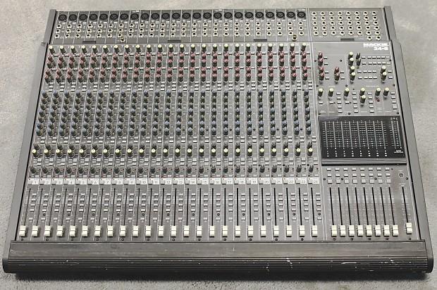 Mackie 24 8 mixing console manualidades