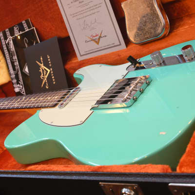 Fender '60 Telecaster Custom Shop Closet Classic Seafoam Green (2011) for sale