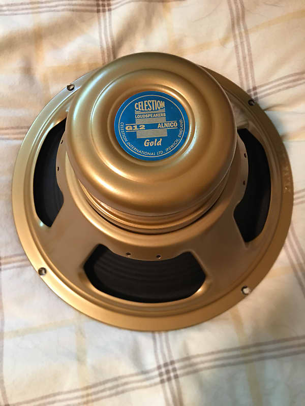 celestion g12 alnico gold 12 50w 15 ohm speaker reverb. Black Bedroom Furniture Sets. Home Design Ideas