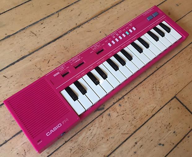 df1694e64 Casio PT-1 Hot Pink vintage 1980s rare color | Reverb