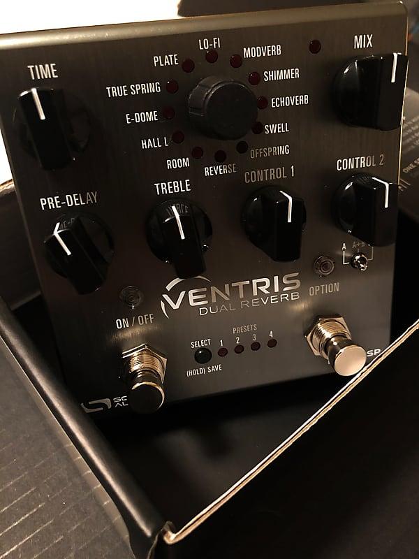 source audio ventris dual stereo reverb ambient guitar pedal reverb. Black Bedroom Furniture Sets. Home Design Ideas