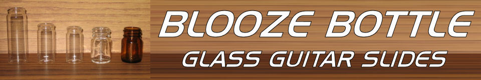 Blooze Bottle Guitar Slides