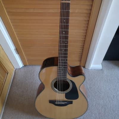 Takamine Takamine GF15CE Electro Acoustic Guitar, Natural - TK-GF15CE-NAT for sale