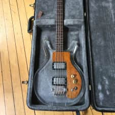 Univox Lucite Bass 1974 Clear/Lucite