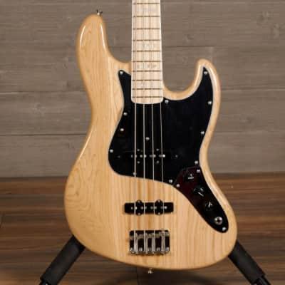 Fender American Original 70s Jazz Bass Natural w/ Binding and Block Inlay w/ Case