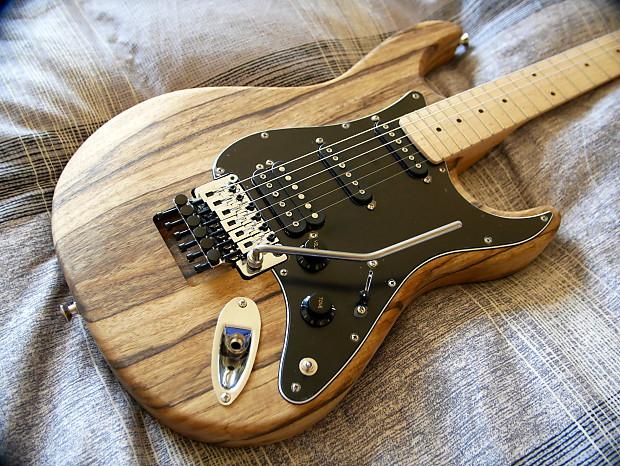 kiesel carvin bolt kit natural strat guitar w floyd rose hss reverb. Black Bedroom Furniture Sets. Home Design Ideas