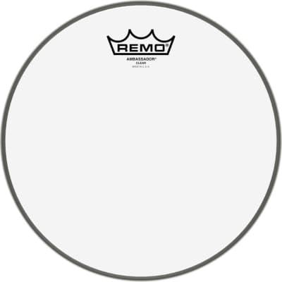"REMO 10"" AMBASSADOR CLEAR DRUM HEAD"