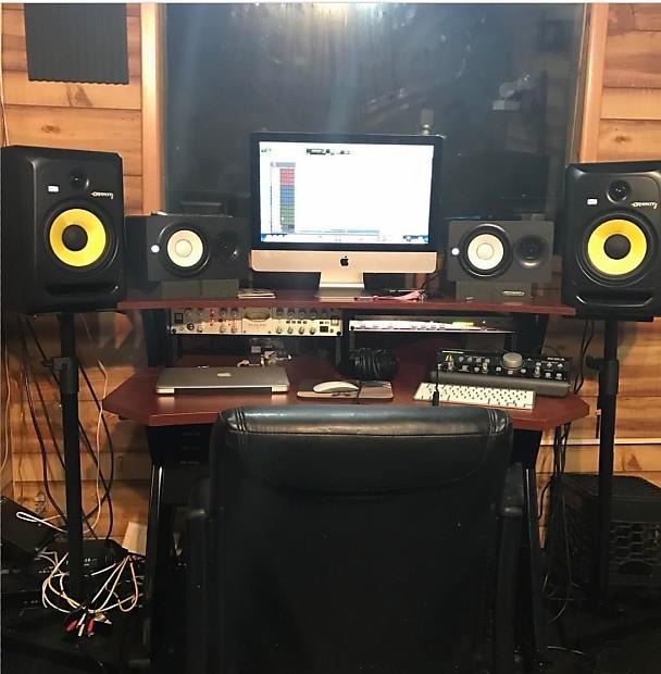 Studio Trends 46 Desk Cherry Finish Ayresmarcus