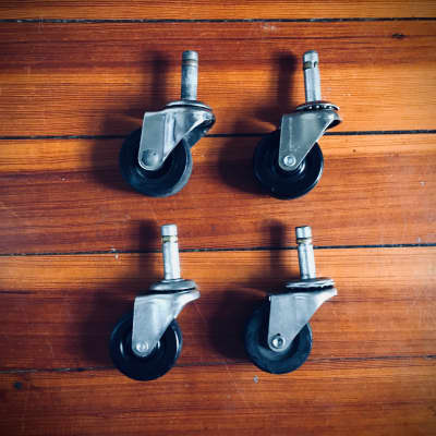 Mixed Amplifier Casters - Set of 4