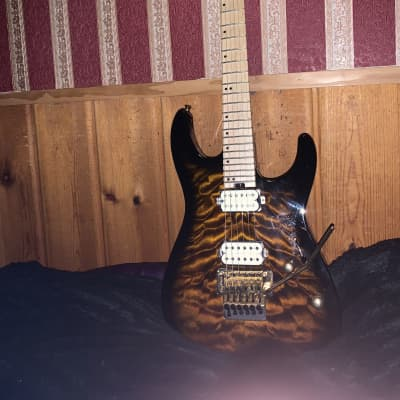 Charvel Charvel Pro Mod San Dimas Style Dk24 1 HH FR with 24K gold strings for sale