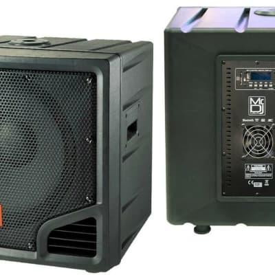 "New Mr Dj 18"" 6000W PA/DJ/Powered Subwoofer Bluetooth/USB/LINE/2 Speaker Output"
