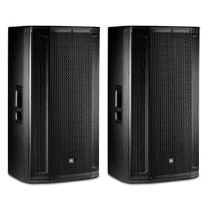 """JBL SRX835P 3-Way 2000-Watt 15"""" Active Loudspeaker (Pair)"""