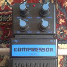 Yamaha CO-100 COMPRESSOR 1980s Black / Blue