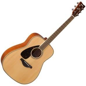 Yamaha FG820L Folk Acoustic Guitar (Left-Handed) Natural