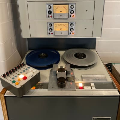 """3M M23 8-track 1"""" Isoloop 7.5 / 15ips tape machine w/Remote   Recapped   Records/ Plays   w/ new GP9"""