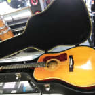 Guild D-44 Acoustic Guitar, Natural image