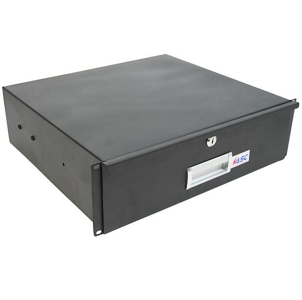 19 Quot Rack Mount 3u Locking Drawer Pro Audio Dj Or Server