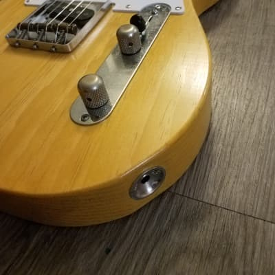 One Piece Body Pinecaster, White Guard Blonde Tele, Handwound Andrew Robertson and Don Mare Pickups for sale