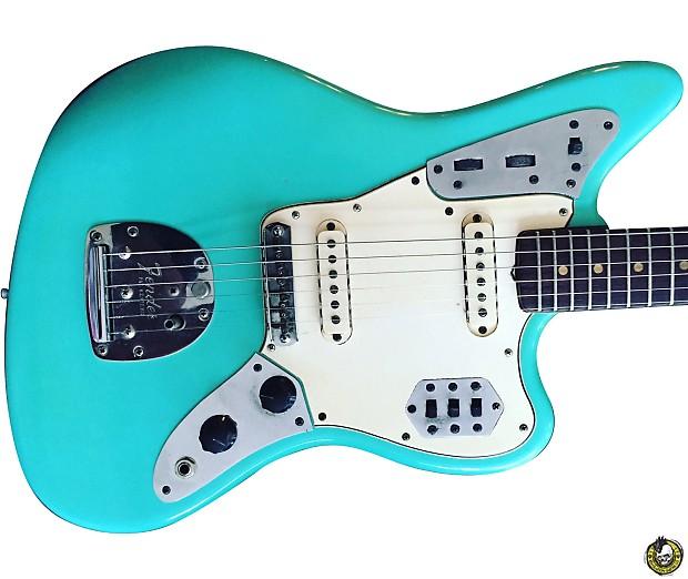 Fender Jaguar 1964 Seafoam Green Refin Reverb