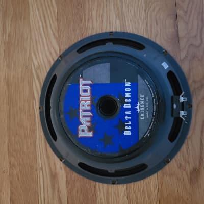"Eminence Delta Demon 10"" Ceramic Speaker American Like Jensen Great In A Fender Amp"