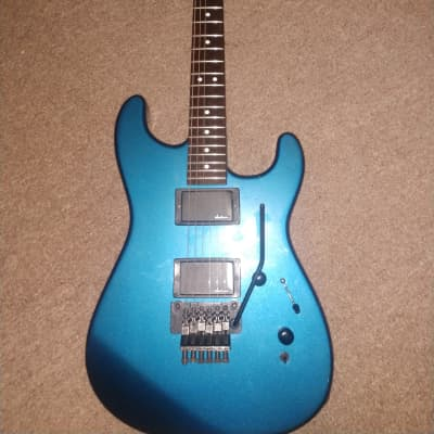 Charvel Model 3a 1987 Blue metallic for sale
