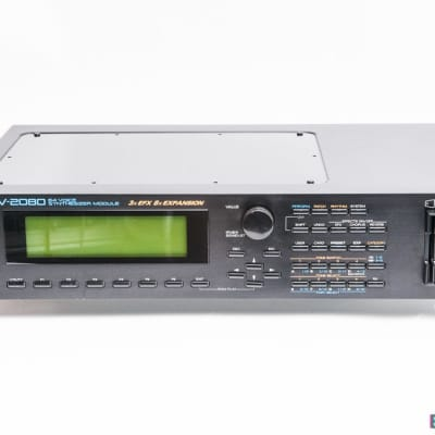 Roland JV-2080 Rackmount Synth Module (Refurbished & new battery fitted)
