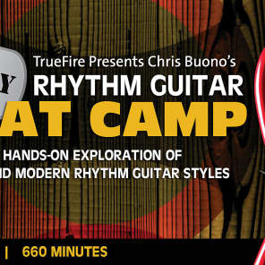 TrueFire Interactive Course: Chris Buono's 40 Day Rhythm SWAT Camp