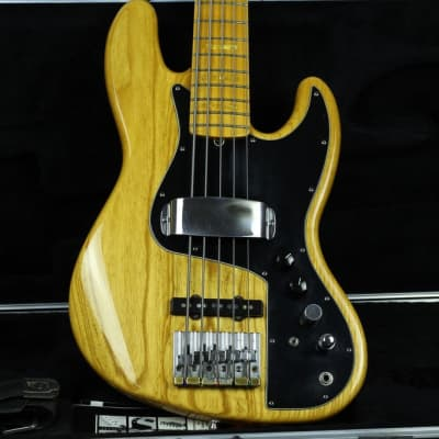 Fender American Marcus Miller Artist Series Signature ULTRA  Jazz Bass V 2004 Natural for sale