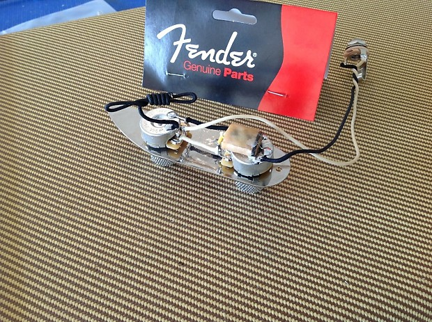 Genuine Fender Prewired Precision '51 Telecaster Control ...