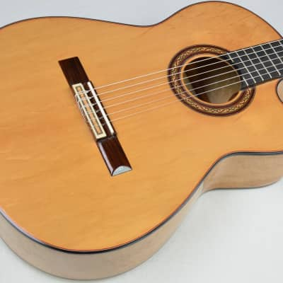 2007 Pimentel & Sons Birdseye Maple Cutaway Classical Guitar Spruce Top #ISS3722 for sale