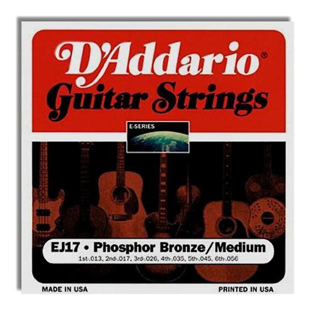 d 39 addario phosphor bronze medium acoustic strings 13 58 reverb. Black Bedroom Furniture Sets. Home Design Ideas