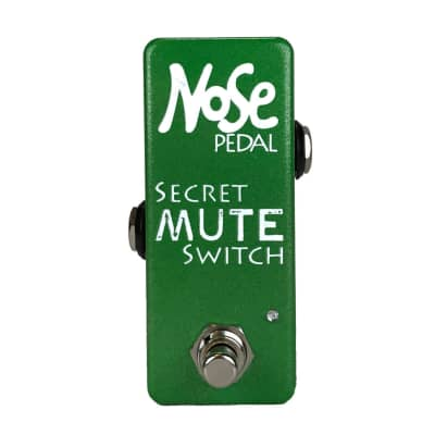 Nose Pedal Custom Secret Mute Switch - Green To Red LED