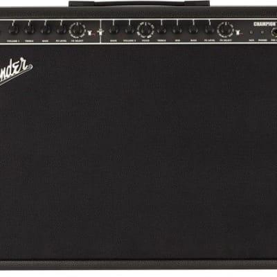 """Fender Champion 100 XL 2-Channel 100-Watt 2x12"""" Modeling Guitar Combo"""