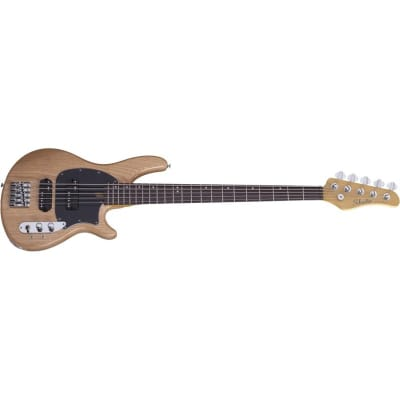 Schecter CV-5 Bass, 5-String, Gloss Natural for sale