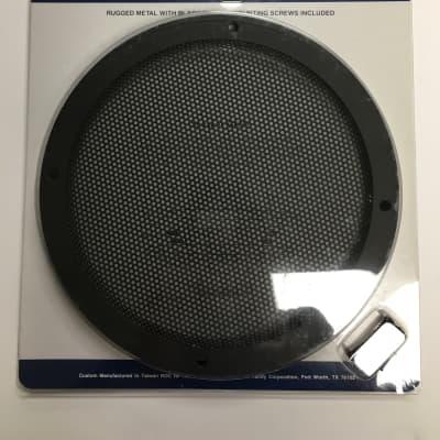 "Radio Shack 8"" Speaker Grill Cover w/ Screws"