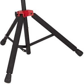 Fender Deluxe Hanging Guitar Stand, Black/Red 2016
