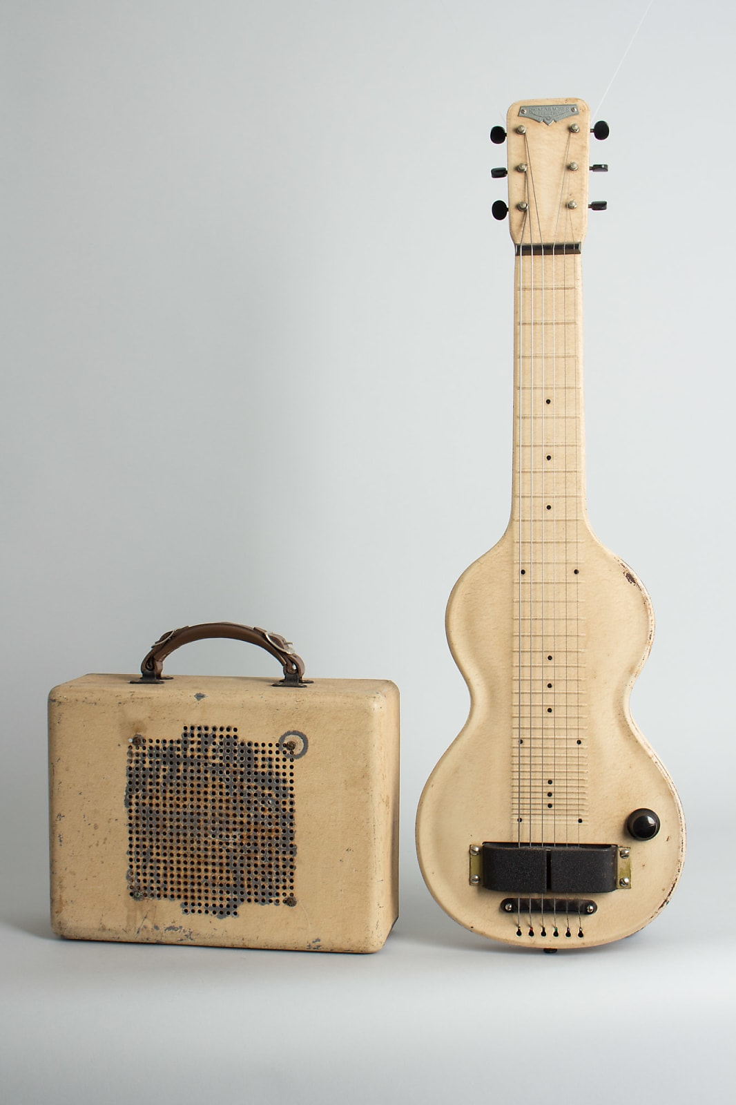 Rickenbacker  Model 59 Lap Steel Electric with Matching Amplifier Guitar (1938), ser. #E 1087, NO CASE case.