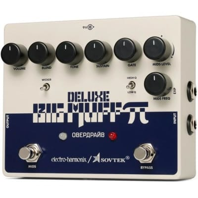 Electro Harmonix Deluxe Big Muff Pi Distortion Sustainer Guitar Pedal for sale
