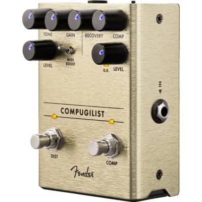 Fender Compugilist Comp/Distortion Pedal for sale