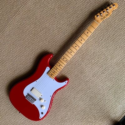 1982 Red Fender  Bullet  1H  Serial # E125992 for sale